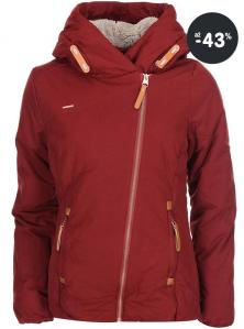 Dámská červená bunda zimní Ragwear (2015/2016)