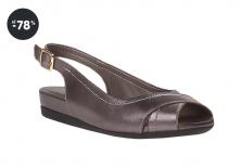 Dámské metalické sandály