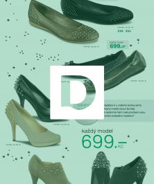 Deichmann leták tento týden - dámská obuv (ukázka)