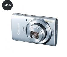 Digitální fotoaparát v akci Canon IXUS 155 IS stříbrný (sleva 45%)