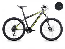 Jízdní kolo horské GHOST SE 4000 dark grey/black/green 2014 (sleva 11%)