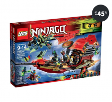 Lego Ninjago - Poslední let (9-14 let)