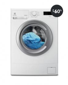Levné pračky s předním plněním Electrolux (bílá)