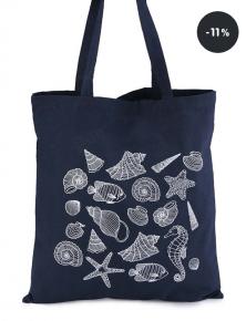 Modrá plátěná taška ZOOT Originál Mořský mix (sleva 11%)