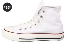 Nejlevnější tenisky Converse bílé Chuck Taylor All Star