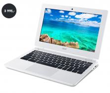 Notebook do 4000 Kč Acer Chromebook 11 (cena 3995 Kč)