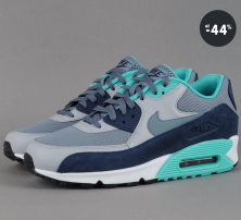 Pánské tenisky Nike Air Max 90 Essential (šedá/modrá/zelená)