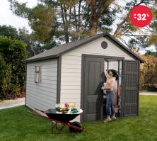 Plastový zahradní domek levně - Lifetime 6433