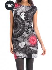 Šaty Same se vzorem / šedé
