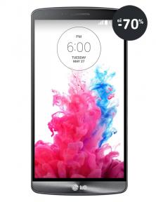 Smartphone / mobil LG G3 v provedení metallic Black