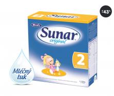 Standardní kojenecká výživa Sunar Original