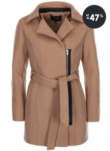 Výprodej - kabát zimní hnědý VILA