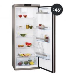 Výprodej lednice AEG (320 l / stříbrná barva)