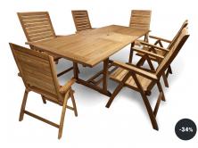 Výprodej - zahradní nábytek set Fieldmann KATRINA (sleva 34%)