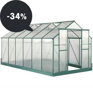 Akce: Skleníky z polykarbonátu s akční slevou až 34%