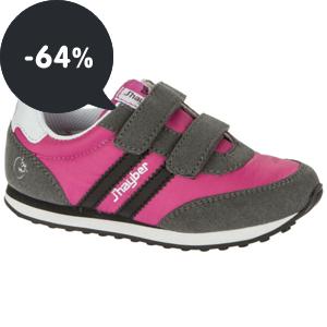 Akce: Dívčí a chlapecká sportovní obuv J'hayber se slevou 64%