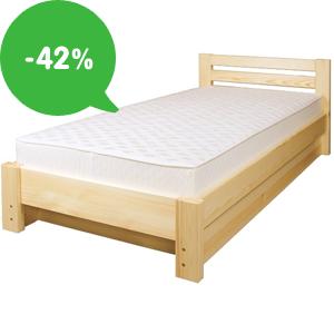 Levné postele jednolůžkové/dvoulůžkové se slevou až 42%