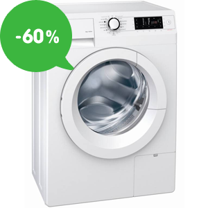 Levné pračky s předním či horním plněním – slevy až 60%