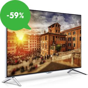 Výprodej televizí se slevami až 59%: Ceny již od 2 599 Kč a doprava zdarma