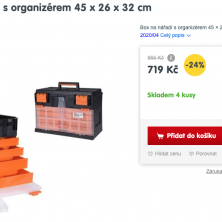 Box na nářadí EXCELLENT levně