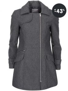 Dámský kabát zimní se zipem Vero Moda z kolekce 2015/2016