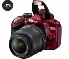 Digitální fotoaparát Nikon D3200 + 18-55 AF-S DX VR II (sleva 27%)