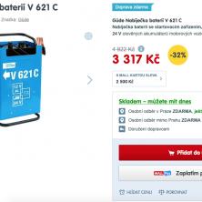 Güde Nabíječka autobaterií V 621 C