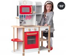 Hračky pro dívky (výprodej) - Kuchyňka dřevěná