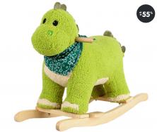Hračky pro nejmenší - houpací dinosaurus