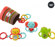 Hračky pro nejmenší - sada chrastítek (výprodej)