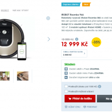iRobot vysavač Roomba 966