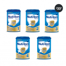 Kojenecká mléka akce - Nutrilon 1,2,3,4,5 Pronutra