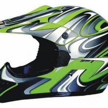 Motokrosová přilba WORKER MAX606-1 - D - zelená