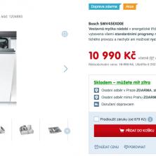 Myčky Bosch SMV45EX00E