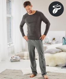 Nátělník a pohodlné kalhoty (nabídka Tchibo)