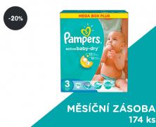 Plenky Pampers Active Baby 3 Midi