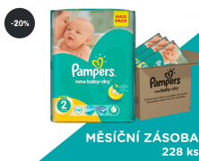 Plenky Pampers Active New Baby 2 Mini (sleva 20%)