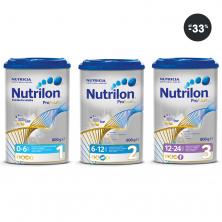 Speciální kojenecká výživa Nutrilon 1,2,3,4 Profutura