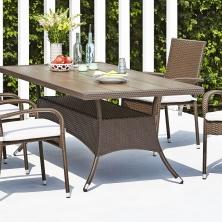 Stůl SANDVIG D200 cm+4 židle GUDHJEM (11995 Kč)