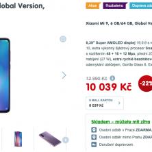 Telefon Xiaomi Mi 9