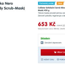 Tělová maska Nero Sublime