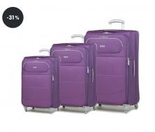 Výprodej cestovní kufry - sada Rock Verve TR-0103/3 (sleva 31%)