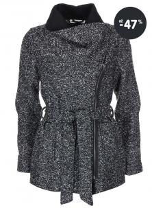 Žíhaný kabát pro ženy Noisy May
