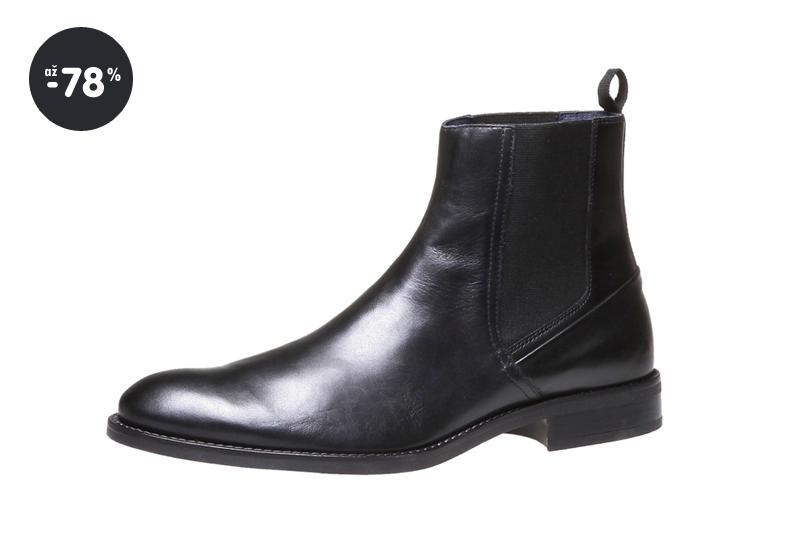 ... dámské kožené kozačky Baťa pánská kožená obuv v Chelsea stylu ... 0780653cd7