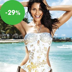 Výprodej: Jednodílné dámské plavky tvarující za akční ceny